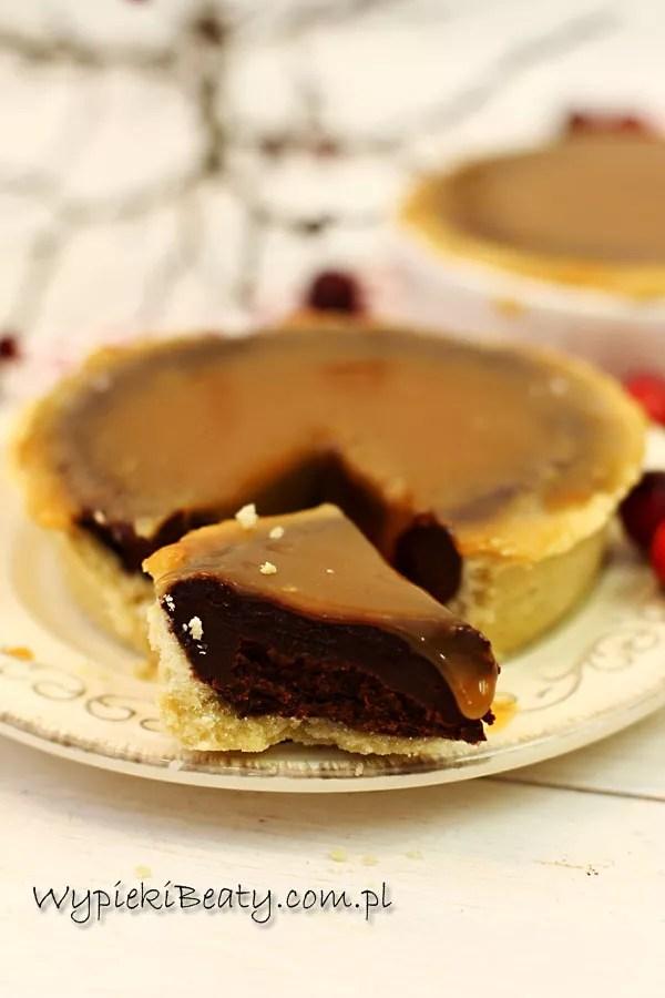 tarta czekoladowa z karmelem