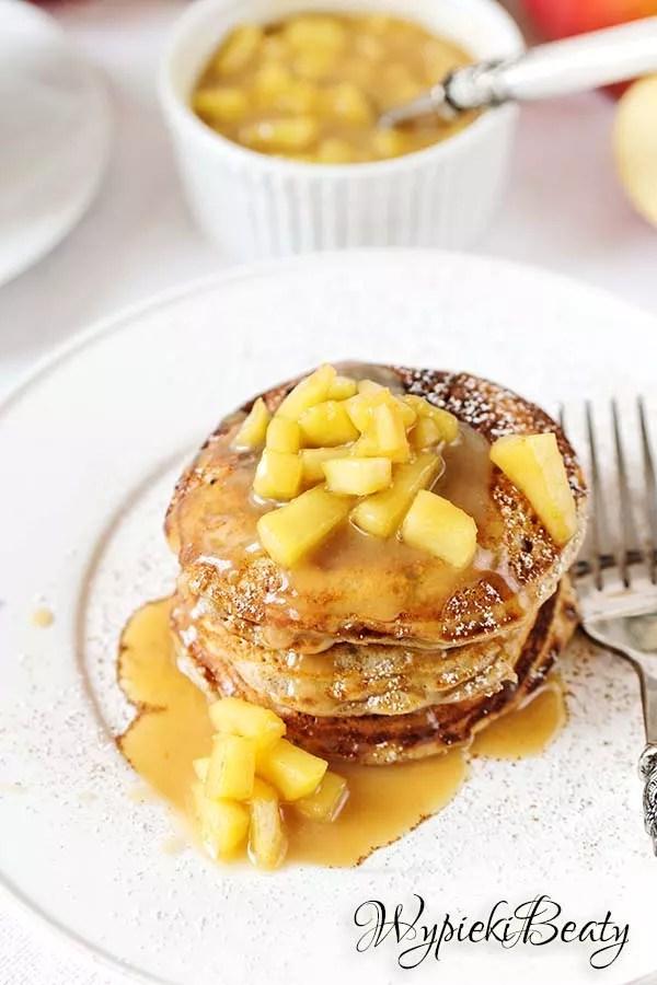 pancakes jabłkowe 5