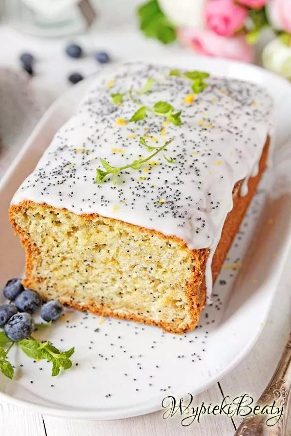 ciasto cytrynowe z makiem 4