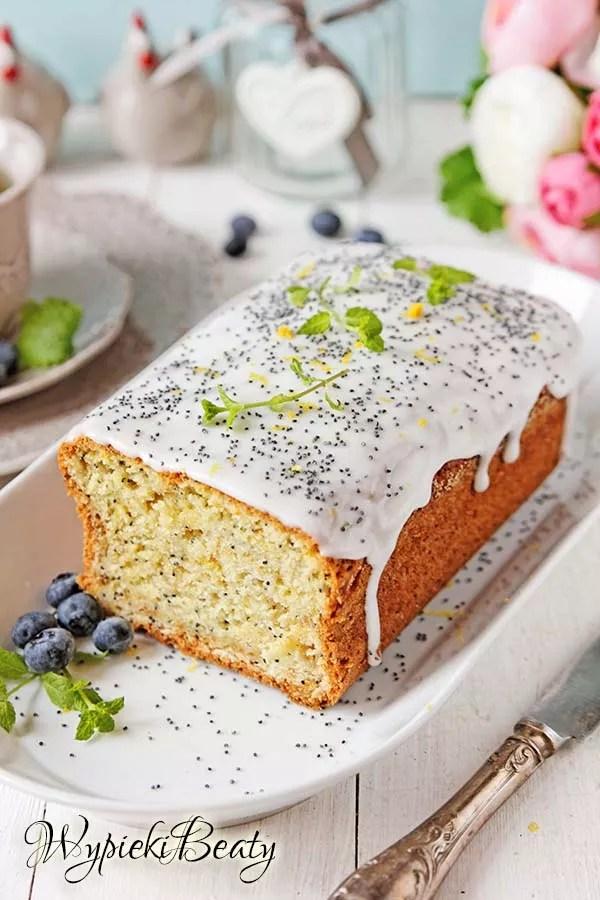 ciasto cytrynowe z makiem 5