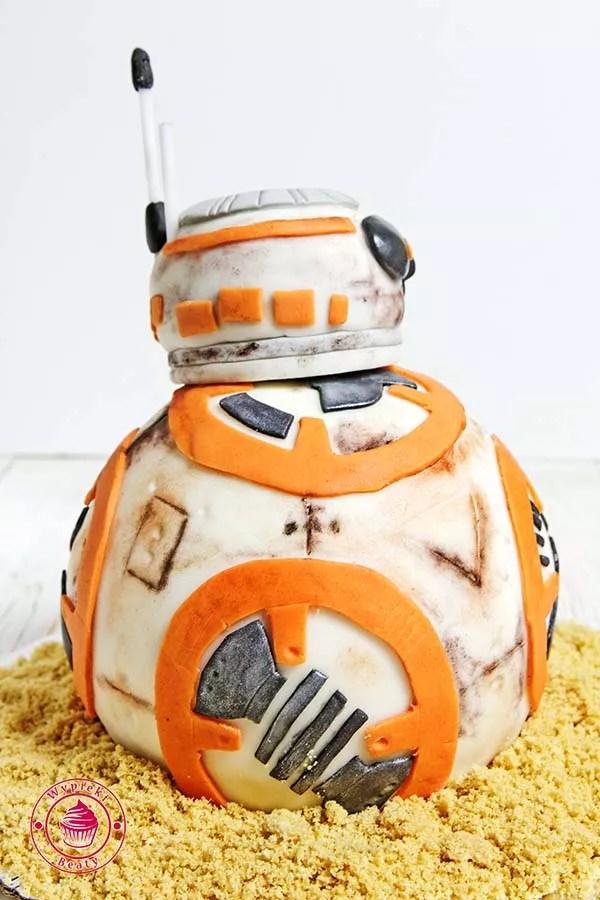 wojny gwiezdne droid robot bb8