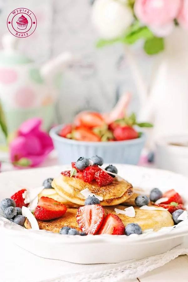 kokosowe pancakes 4
