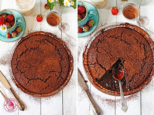 ciasto czekoladowe z sosem 3