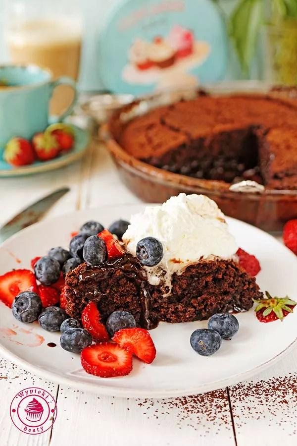ciasto czekoladowe z sosem 5