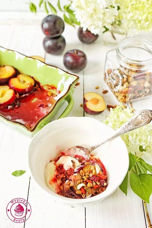 prosty deser owocowy