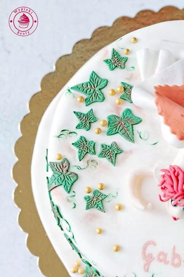 tort dla panny młodej