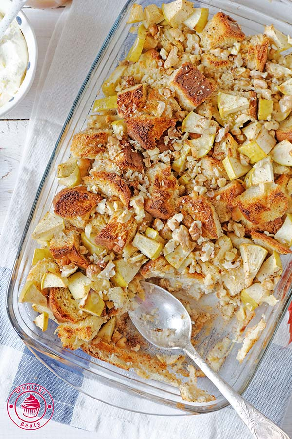 tosty z jabłkami
