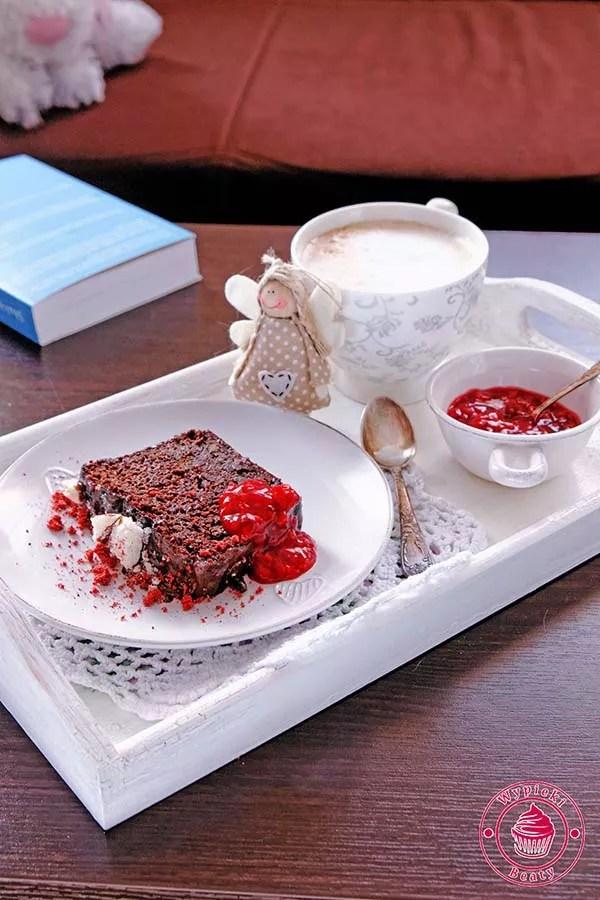 ciasto z fasolą