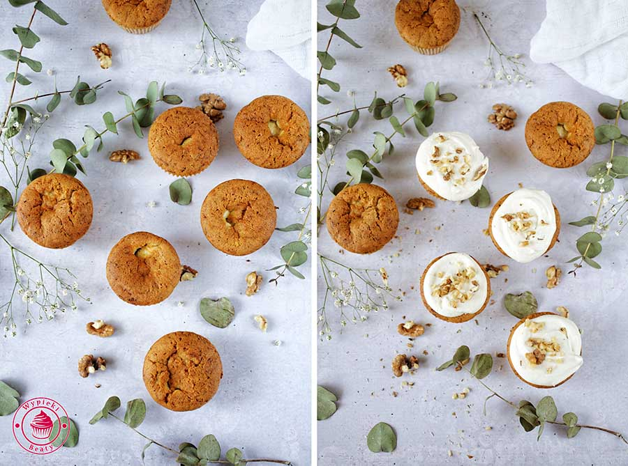carrot and cheese cupcakes