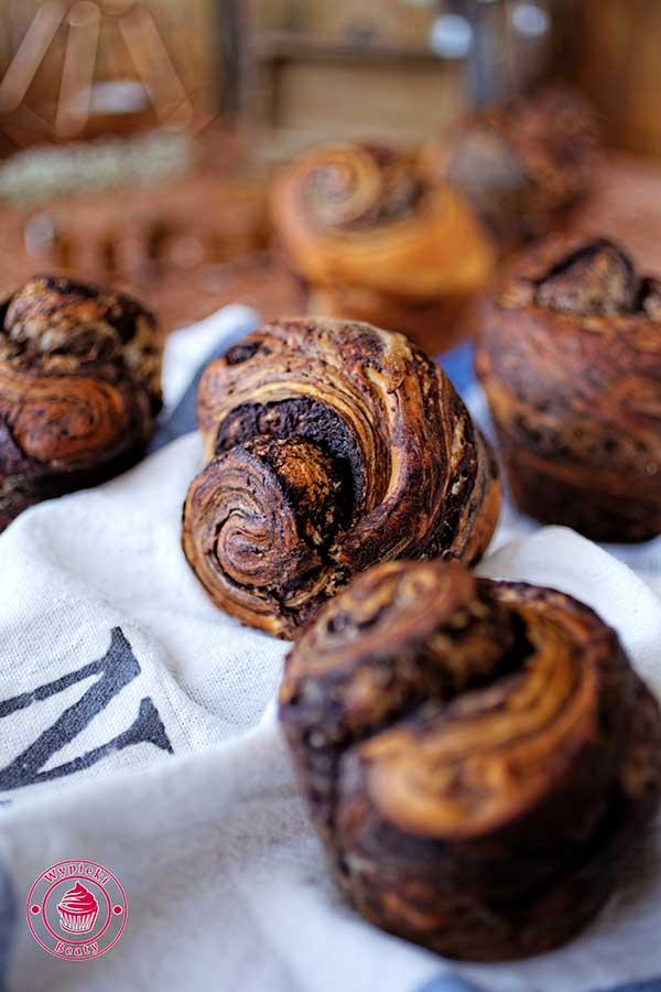 brioszki czekoladowe