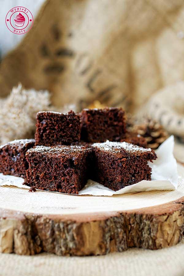 cukiniowe brownie z czekoladą
