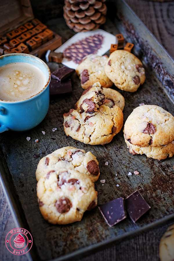 szybkie ciasteczka czekoladowe bez wycinania
