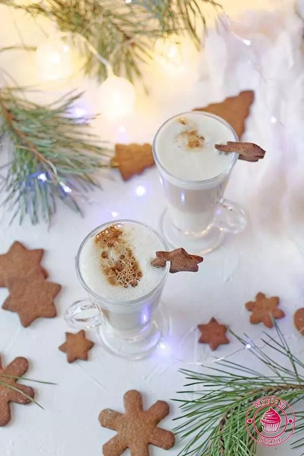 kawa latte z ajerkoniekiem