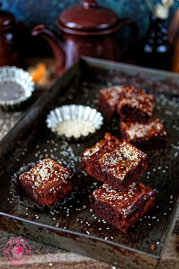 proste brownie