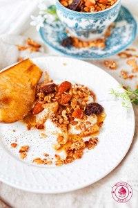 pyszna domowa granola migdałowa