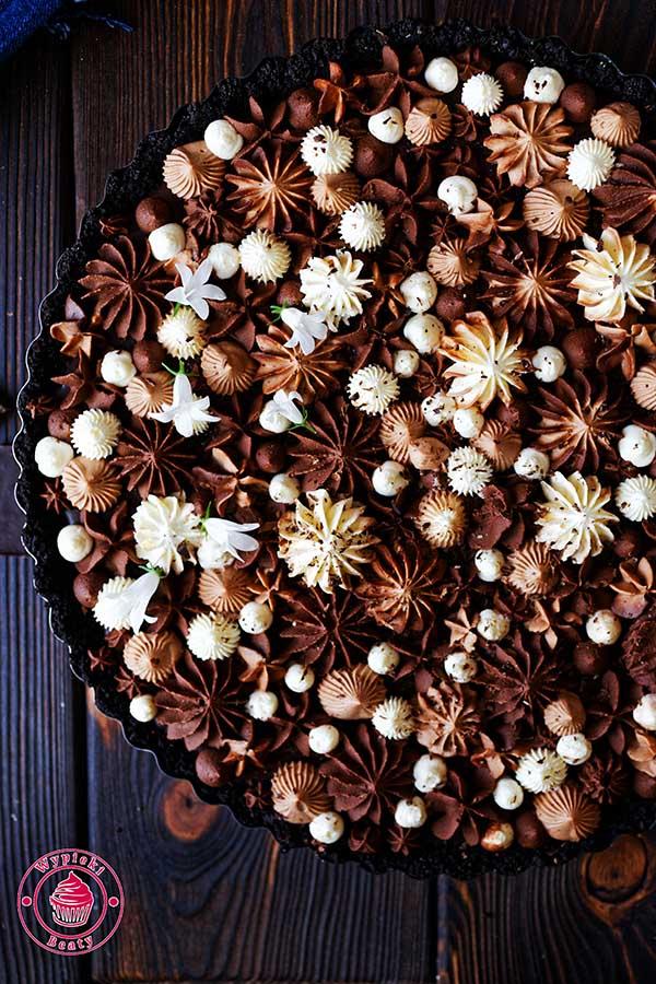pyszna tarta czekoladowa