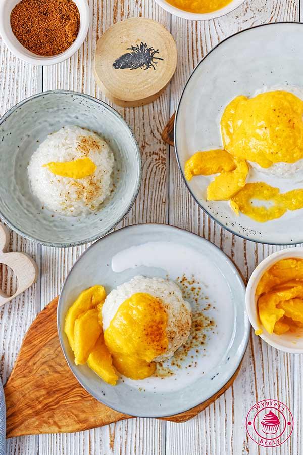 tajski ryż z mango