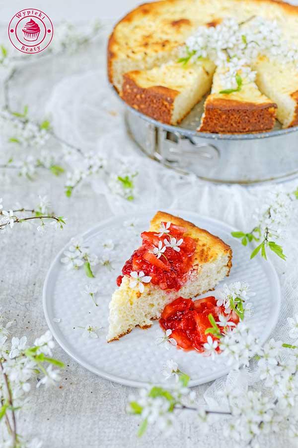 kokosowe ciasto bez glutenu i bez laktozy