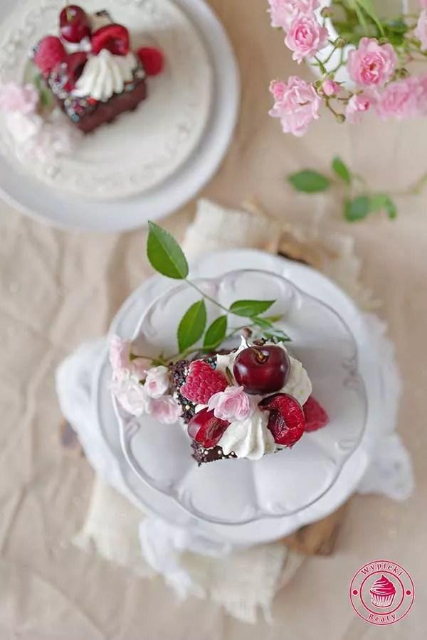 ciasto czekoladowe bez nabiału i jajek