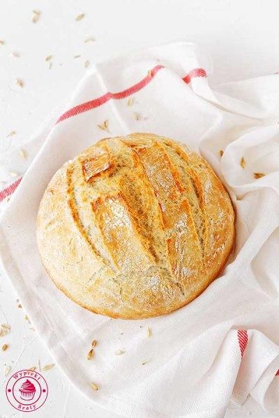 pszenny chleb na drożdżach