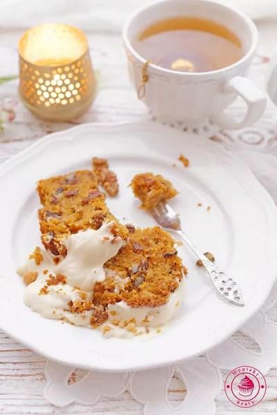 proste ciasto marchewkowe z twarożkiem