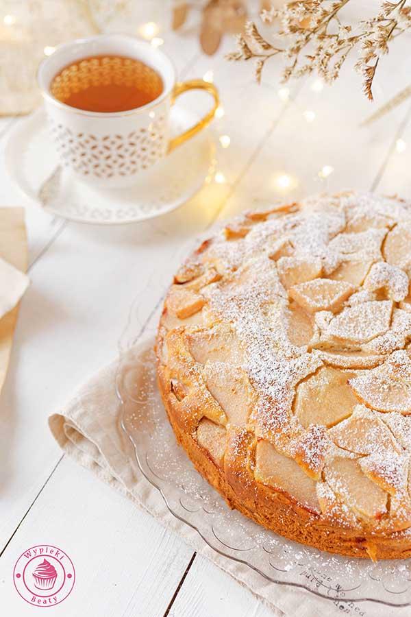 ciasto z gruszkami i mascarpone