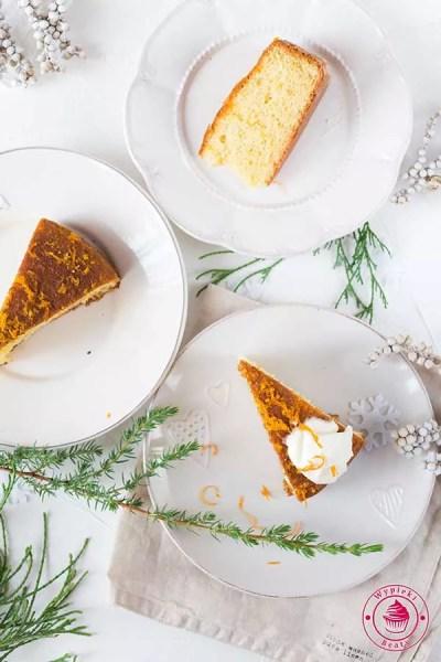 pomarańczowe ciasto z jogurtem