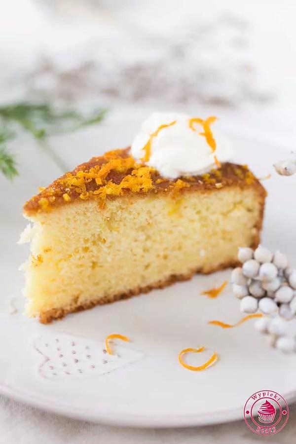 ciasto pomarańczowe z jogurtem