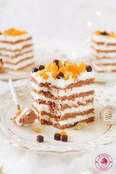 kostka czekoladowo-pomarańczowa