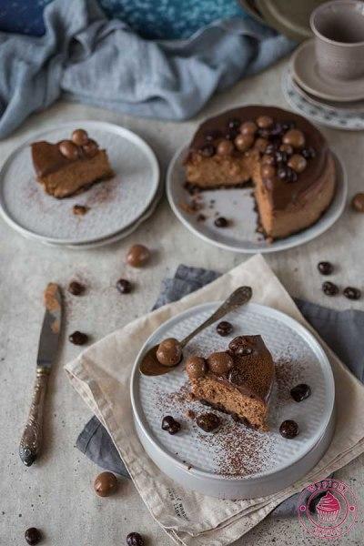 prosty sernik czekoladowy