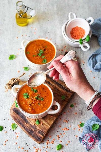 indyjska zupa z soczewicą