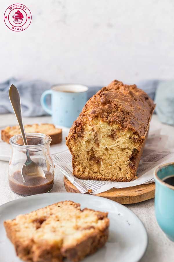 proste ciasto z cynamonem