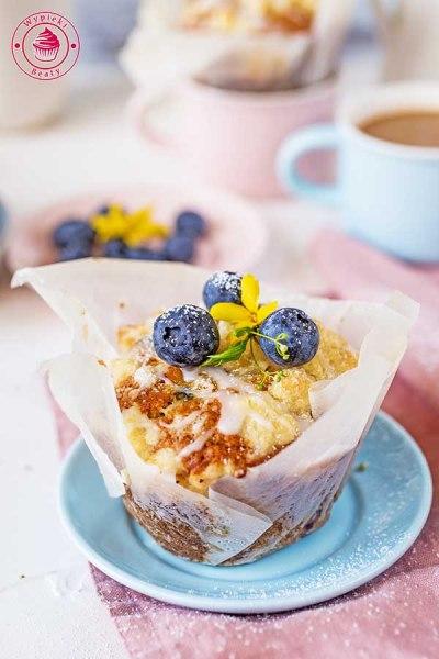 proste muffinki z kruszonką