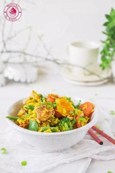 dietetyczny ryż smażony