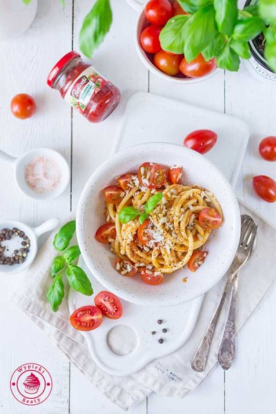 pudliszki spaghetti z pomidorami