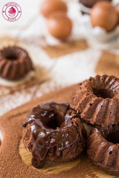 bardzo czekoladowe babeczki
