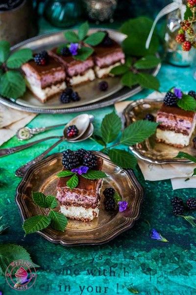 ciasto na zimno z rurkami czekoladowymi
