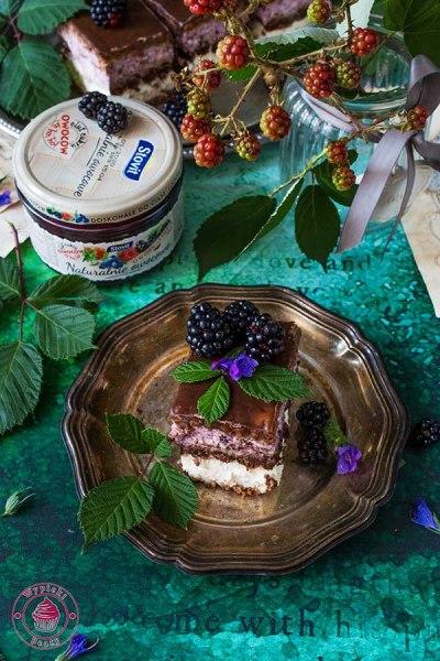 ciasto na zimno z rurkami