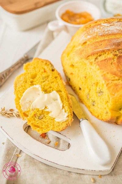 domowy chleb dyniowy