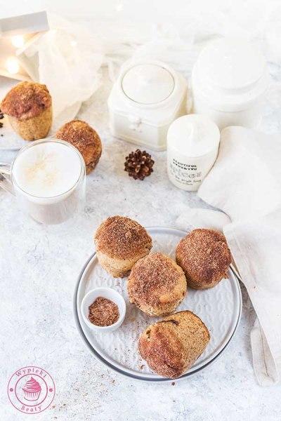 cynamonowe muffinki z czekoladą