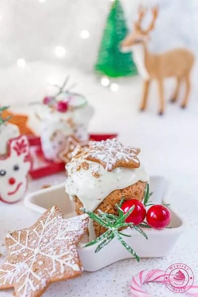 piernikowe muffinki z białą czekoladą