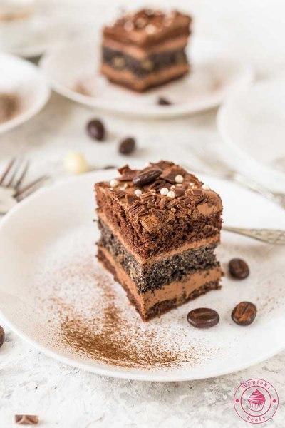 czekoladowe ciasto z makiem