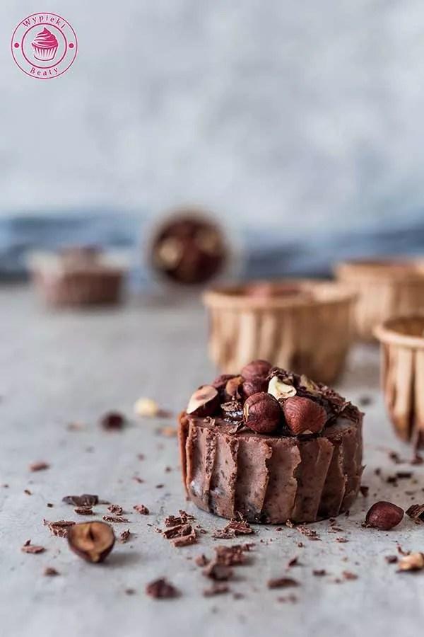 mini serniczki czekoladowe