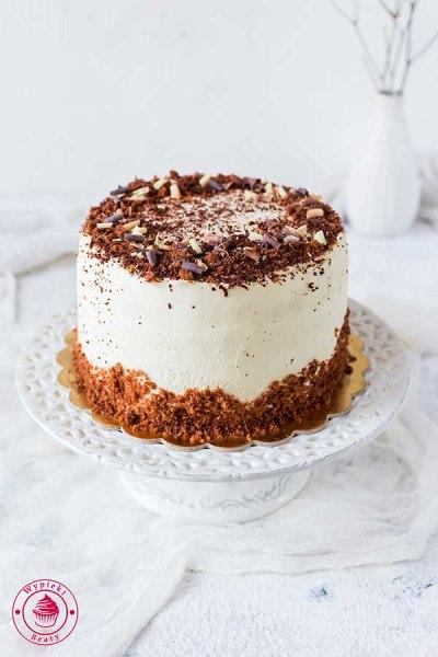czekoladowy tort z amaretto i mascarpone