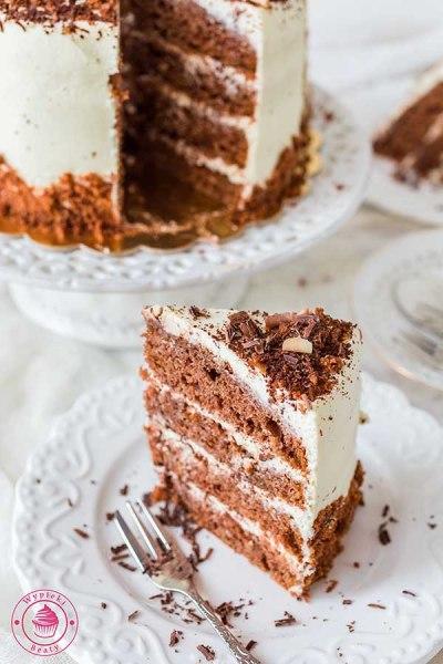 czekoladowy torcik tiramisu