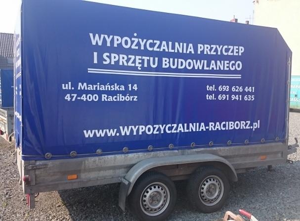 Przyczepa towarowa lekka sidecar (3,4m dł)