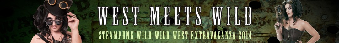 Web banner for a Steampunk Festival