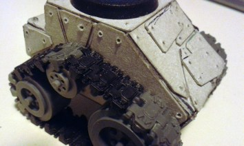 Additional armour & rivet holes