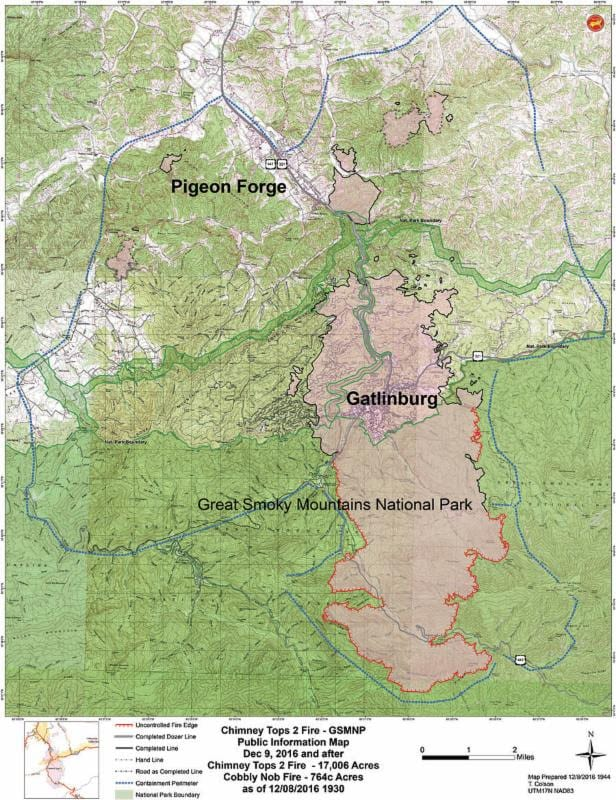 Fire information from National Park Service – WYSH AM 1380