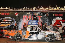 CWTS:  Briscoe squeaks out victory on Eldora dirt